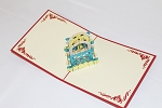 3D Heart House, Greeting Card, GAS_0229