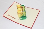 3D Birthday Castle, Greeting Card, GAS_0230