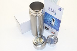 Portable Stainless Alkaline Nano Energy Bottle Water Ionizer Flask