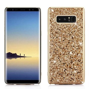 Glitter Bling Diamond Soft Rubber Case Cover Samsung Galaxy Note 8