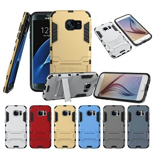 Kickstand Dual Layer Case Samsung Galaxy S7 or S7 Edge