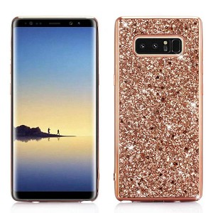 Glitter Bling Diamond Soft Rubber Case Cover Samsung Galaxy S8 or S8 Plus
