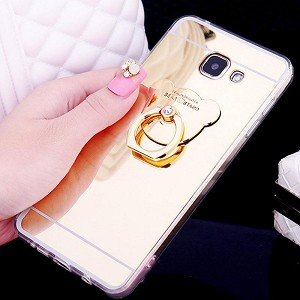 Bear Ring Loop Stand Soft Rubber Case Cover Samsung Galaxy S9 or S9 Plus