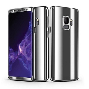 360 Plating Phone Case Slim Mirror Full Coverage Samsung Galaxy S9 or S9 Plus
