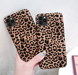 Leopard Print Pattern Wildcat Series Soft Rubber Case Cover Apple iPhone 11, 11 Pro, or 11 Pro Max