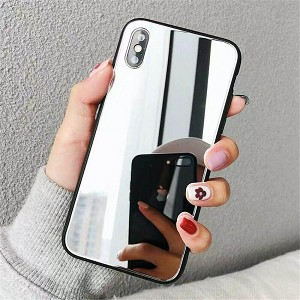 Crystal Mirror Shockproof Slim Cover Case Apple iPhone 8 or 8 Plus