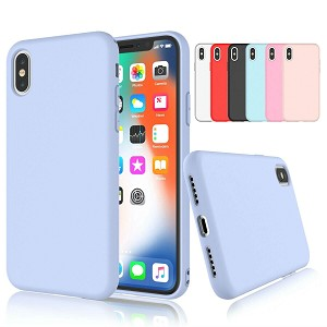 Soft Gel Liquid Silicone Case Apple iPhone X / XS / XR / XS Max