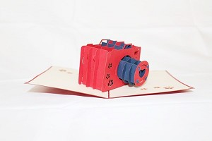 3D Camera, Greeting Card, GAS_0013