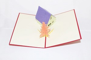 3D Little House, Greeting Card, GAS_0074