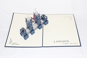 3D Tower of London, Greeting Card, GAS_0085
