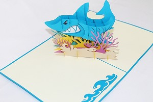 3D Shark Tank, Greeting Card, GAS_0153
